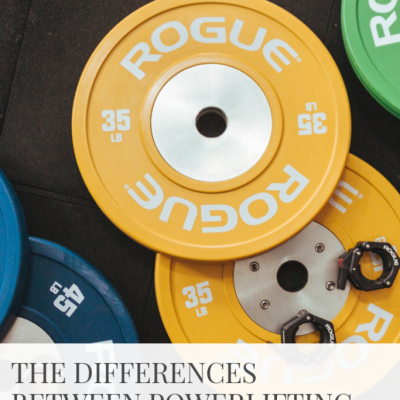 The Differences Between Powerlifting and Weightlifting